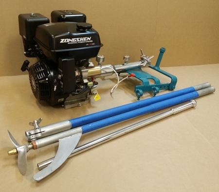 лодочный мотор с гибким валом